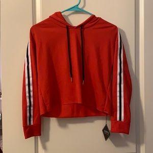 NWT Cropped hoodie